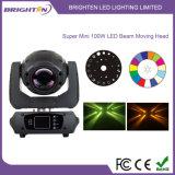 小型100W LEDのビーム移動ヘッド段階の照明(BR-100B)