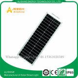 réverbère 40W actionné solaire avec du temps et le contrôle léger