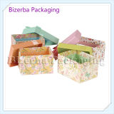 Vier Farben-Pappgeschenk-Papierkasten