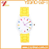 Customed Design Muti-Color Silicone Watch para criança