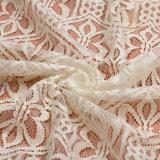Tela francesa de la alineada de boda del cordón del guipur del nuevo estilo