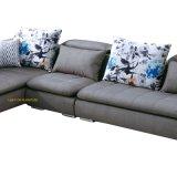 Il sofà moderno dell'angolo del tessuto di disegno di Mueble ha impostato per la casa (F953)