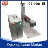 Горячая машина маркировки лазера волокна типа 30W портативная