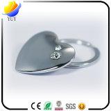 Cambed Oberflächeninner-Form-Metallschlüsselkette mit Diamanten