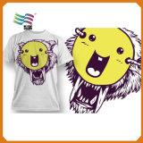 T-shirt bon marché de coton avec sauver personnalisé en gros