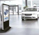 "65 ""Floor Stand FHD Display LCD Digital Display com vidro de segurança"