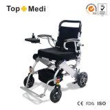 Кресло-коляска Китай электричества ходкой складчатости Topmedi облегченная