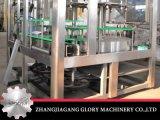 Máquina que capsula de relleno del fregado de las botellas para el barril de 5 galones