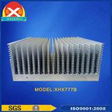 Disipador de calor de la aleación de aluminio con una potencia muy alta