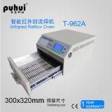 Forno Desktop do Reflow, forno infravermelho do Reflow, soldador de BGA IrDA, forno do Reflow de SMT, calefator infravermelho Puhui T962A do CI