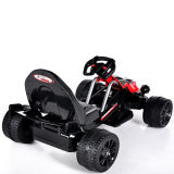 Elektrisch Reiten-auf Spielzeug Car- schwarzes Fernsteuerungskart (zwei Batterie der Kinder des Motor zwei)