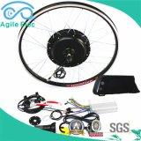 [48ف] [500و] سوداء عجلة محرك كهربائيّة درّاجة عدة مع بطارية