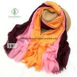 Повелительница Способ Шарф светлого цвета сатинировки 80 покрашенный вручную Linen