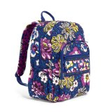 Fashion Printcloth School Girls Bolsas de ombro duplas Campus Backpack