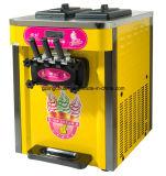 Machine molle durable de congélateur de machine de crême glacée de prix usine