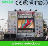 Funzione esterna della video visualizzazione della visualizzazione di LED di esposizione P3.91 di evento/struttura d'attaccatura