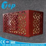 환기 건축재료 장식적인 옥외 알루미늄 에어 컨디셔너 덮개