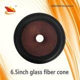 cono de la fibra del Pieza-Vidrio del altavoz del coche 6.5inch