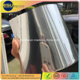 Glossy Level 487% Chrome Silver Mirror Finish Dry Acrylic Powder Coat para pintura de garrafa de vidro