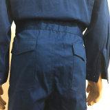최신 판매 여름 간결 소매 Breathable 주황색 작업복은 획일한 작업복을 적응시킨다