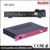 Juste S-70 65W 8ohm 4 Speaker Link Multimedia Amplificador digital de audio con interfaz de micrófono Precio barato
