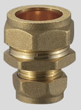 Brass Compression Fitting Droit femelle Coupler FXC
