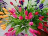 Цветки Magnolia Yulan искусственних цветков прямой связи с розничной торговлей фабрики цветастые