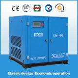 Compresor de aire silencioso estupendo eléctrico conducido directo del tornillo rotatorio inmóvil