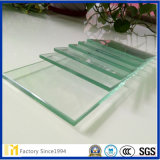 Precio de fábrica 1,8 mm, 2 mm 3 mm 5 mm 6 mm placa de vidrio flotado cortado a tamaño