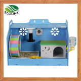 Acrylique Coloré Cute Hamster Hedgehog DIY Maison avec Décorations