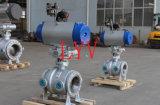 Fornitore professionale di migliore servizio per la valvola a sfera pneumatica dell'isolamento dell'acciaio di getto