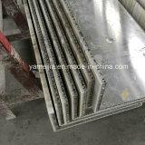L panneaux en aluminium de composé de nid d'abeilles de marbre/granit/travertin/grès de forme