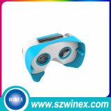 Vidrios de encargo de la cartulina V2 3D Vr de Google de la impresión de la insignia del modelo nuevo