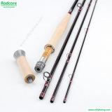 Cambiar la pesca Rod de mosca del interruptor del carbón del 11FT 4PC 5/6wt