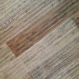 Plancher en bois/plancher de type de Handscraped chêne de bois dur rétro