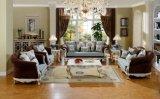 Jogo clássico americano da mobília da sala de visitas do sofá da tela
