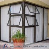Ventana colgada superior de aluminio/ventana de aluminio del toldo
