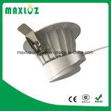 Aluminium 3inch 7W rond Downlight avec le prix bas