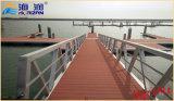 Гальванизированный высоким качеством стальной трап мостк шлюпки для плавучего дока