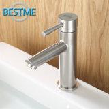 Le paquet de salle de bains a monté le mélangeur de lavabo de l'acier inoxydable 304 (BMS-B1001)