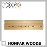 Parte superiore di legno materiale decorativa che modella per il progetto dell'hotel