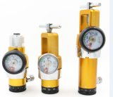Regolatore standard dell'ossigeno di Cga 870 medici 0-8 LPM di presa della sbavatura
