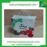 Natal que grava o saco impresso do cosmético do saco do presente do presente do papel de embalagem