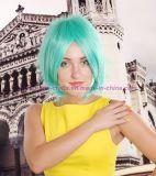 Cosplay 성과를 위한 바브 다채로운 방열 합성 가발