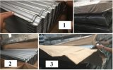 Гальванизированная стальным плитка крыши толя покрашенная листом для строительного материала