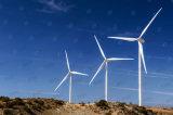 電流を通された鋼鉄管の風力タワー
