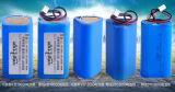 18650 batería recargable del Li-ion de 11.1V 2000mAh para la lámpara del césped, solar
