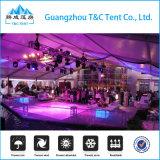 Großes im Freienpartei-Hochzeits-Festzelt-Luxuxzelt mit Glaswand