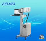 Machine van de Gravure van de Laser van Co2 de Vliegende voor Plastiek