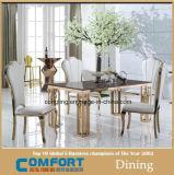 椅子を食事するデザインGlod贅沢なローズのステンレス鋼